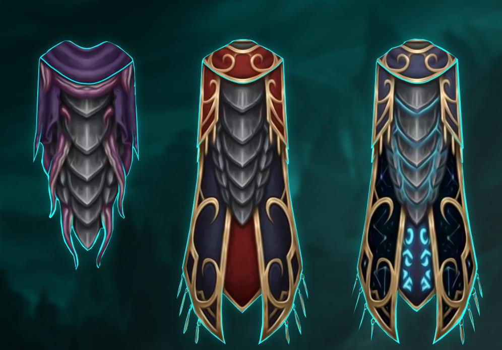 Legendary cloak questline