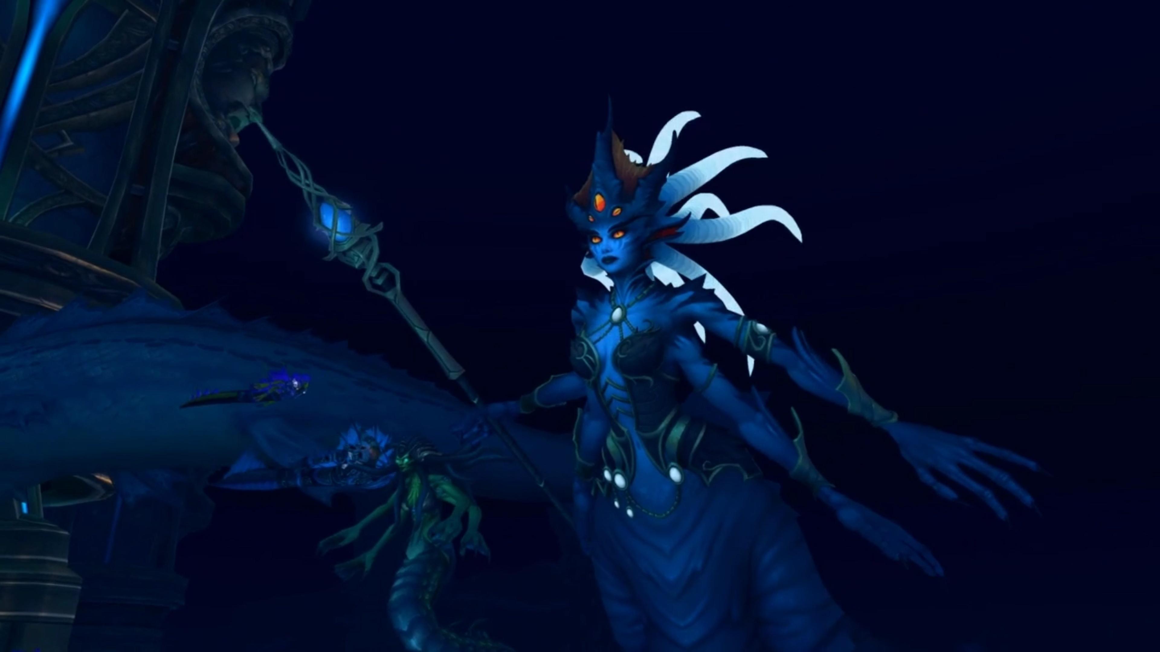 Queen Azshara Heroic Kill